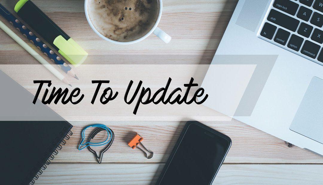 5 signs your website needs an update