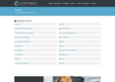 CONNECT Browse Forums