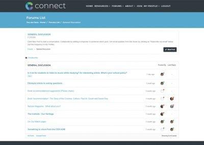 CONNECT Forums List