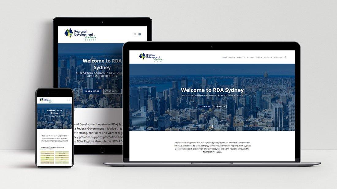 RDA Sydney Responsive WordPress Website Design